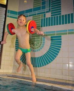 Wassergewöhnung in Mönchengladbach, Schwimmkurs