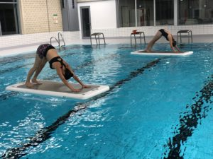 Aqua yoga board; aquafitness mönchengladbach, Aquafitness jüchen; yoga